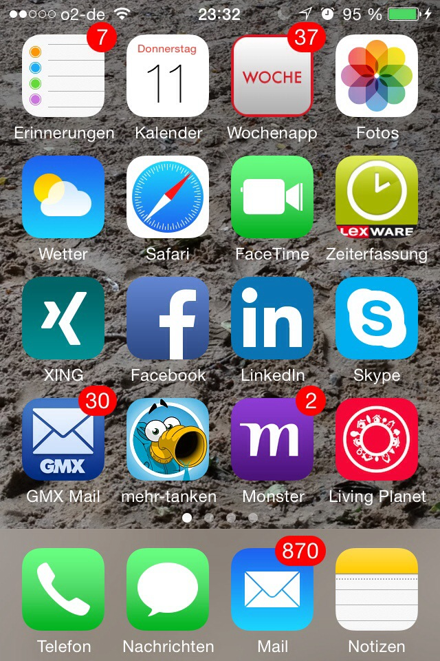wochenapp screenshot